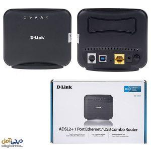 مودم روتر باسیم ADSL2 Plus دی-لینک مدل DSL-2520U-Z2