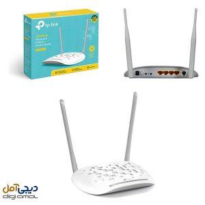 مودم روتر ADSL2Plusبی سیمN300تی پی-لینک مدلTD-W8961N_V3