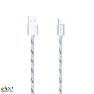 کابل تبدیل USB به microUSB جووی مدل LM15 طول 0.2 متر