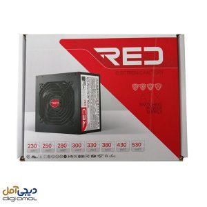 منبع تغذیه کامپیوتر RED مدل racer330w