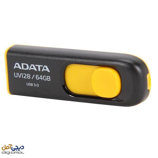 فلش مموری ای دیتا مدلDashDrive UV128ظرفیت64گیگابایت
