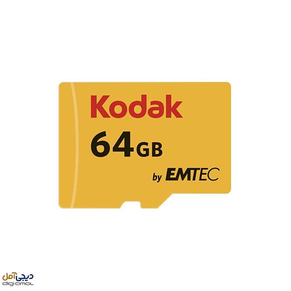 کارت حافظهmicroSDXCکداک کلاس 10سرعت85 ظرفیت 64گیگابایت