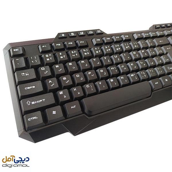 کیبورد تسکوTK-8019-دیجی آمل